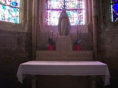 Cathédrale Saint-Etienne - Cathédrale Saint-Étienne de Bourges (Cher, France), autel secondaire