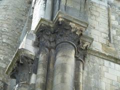 Ancienne abbaye de Saint-Martin - English:   Medieval Saint-Martin basilica, destroyed in the late XVIIIth century. Clock Tower (Tour de l\'Horloge).