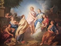 Ancien archevêché, actuellement musée des Beaux-Arts - Français:   Les fruits de la Paix de Ryswick - François Marot (1666-1719)