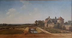 Ancien archevêché, actuellement musée des Beaux-Arts - Français:   Vue du Paradis près de Chanteloup - Jean Pierre Louis Laurent Houël (1735-1813)