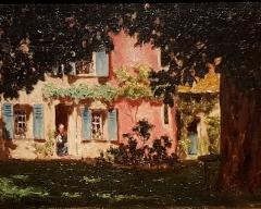 Ancien archevêché, actuellement musée des Beaux-Arts - Français:   La maison rose - Philippe Grondard (1862-1928)