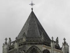 Cathédrale Saint-Gatien - Couronnement du chevet de la cathédrale Saint-Gatien de Tours (37).