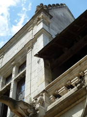 Cloître Saint-Gatien dit La Psalette - Cloître de la Psalette (XVe et XVIe siècles). Galerie nord.