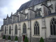 Cathédrale Saint-Louis - Cathédrale Saint-Louis de Blois (Loir-et-Cher, France), côté nord-ouest