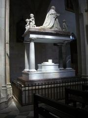 Basilique Notre-Dame - Basilique Notre-Dame de Cléry-Saint-André (Loiret, France), monument funéraire de Louis XI