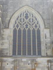 Basilique Notre-Dame - Français:   Basilique Notre-Dame de Cléry-Saint-André (Loiret, France), côté nord-ouest