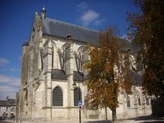 Basilique Notre-Dame - Basilique Notre-Dame de Cléry-Saint-André (Loiret, France), vue depuis le sud