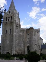 Eglise Saint-Liphard - Français:   Collégiale Saint-Liphard de Meung-sur-Loire (Classé)