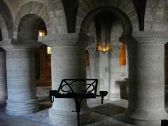 Eglise abbatiale Saint-Benoît - Français:   Église abbatiale Saint-Benoît de Saint-Benoît-sur-Loire (Loiret, France): crypte