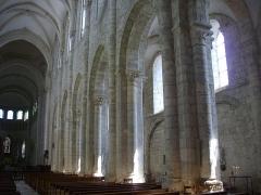 Eglise abbatiale Saint-Benoît - Français:   Église abbatiale Saint-Benoît de Saint-Benoît-sur-Loire (Loiret, France)
