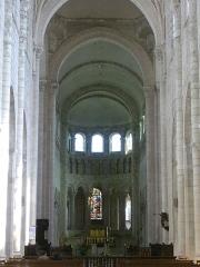 Eglise abbatiale Saint-Benoît - Français:   Église abbatiale Saint-Benoît de Saint-Benoît-sur-Loire (Loiret, France): chœur