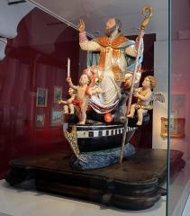 Eglise de la Conception - English:   Sculptures in the Musée de Bastia
