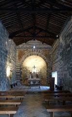 Eglise Saint-Michel - Deutsch: Kirche San Michele de Murato (12. Jh.) - Innenansicht