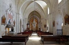 Eglise Saint-Laon - Français:   Nef de l\'église Saint-Laon de Thouars - Deux-Sèvres