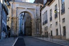 Porte Noire - Français:   La porte Noire de Besançon.