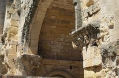 Restes de l'ancienne cathédrale Notre-Dame - Deutsch: Ehemalige Abtei in Alet-les-Bains (Frankreich)