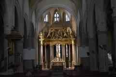 Eglise paroissiale Saint-Martin - Français:   Maître-autel de l'église Saint-Martin à Limoux.