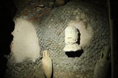 Edifice romain dit Horreum - pièce de l'Horreum