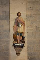 Eglise Saint-Adrien -  Saint Adrien in his church.