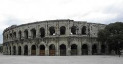 Amphithéatre ou Arènes - Les Arènes de Nîmes (30).