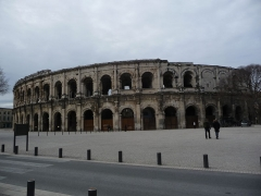 Amphithéatre ou Arènes - This building is classé au titre des Monuments Historiques. It is indexed in the Base Mérimée, a database of architectural heritage maintained by the French Ministry of Culture,under the reference PA00103091 .
