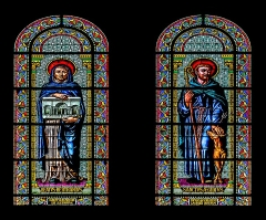 Cathédrale Notre-Dame et Saint-Castor - English: Stained-glass windows of the Cathedral of Our Lady and Saint Castor of Nîmes, Gard, France