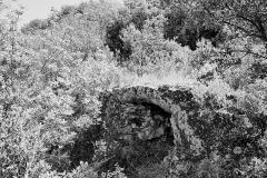 Pont du Gard et aqueduc romain de Nîmes - le Pont de la Combe Pradier fait parti de l'aqueduc de Nîmes, vestige romain dont le tronçon le plus connu est le Pont du Gard