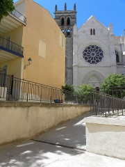 Cathédrale Saint-Pierre - Croisillon droit de la cathédrale Saint-Pierre de Montpellier (34).