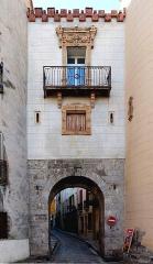 Ancien portal de France - English: City gate