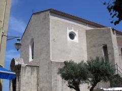 Eglise Notre-Dame-des-Anges - Català: Església de Santa Maria i torre contigua amb rellotge (Cotlliure)