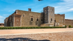 Citadelle - English: The front façade of the citadel of the Palace of the Kings of Majorca in the French city of Perpignan