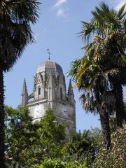 Eglise Saint-Pierre - Français:   Cathédrale Saint-Pierre de Saintes (17).