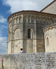 Eglise Sainte-Radegonde - English: Talmont-sur-Gironde ( Charente-Maritime ). Sainte-Radegonde church ( 12th century ) - Romanesque apse.