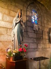 Eglise Saint-Porchaire - Français:   Statue Notre-Dame-de-la-Bonne-Mort à l\'église Saint-Porchaire de Poitiers