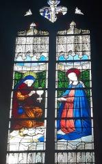 Eglise Saint-Porchaire - Français:   Vitrail de l\'église Saint-Porchaire de Poitiers