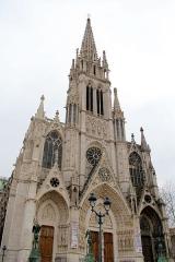 Basilique Saint-Epvre - Basilique Saint-Epvre de Nancy (54) façade principale