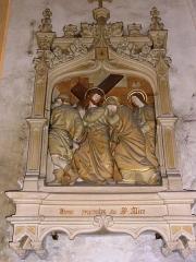 Eglise Saint-Hilaire - Chemin de croix de l'église de Longeville-en-Barrois , station 4