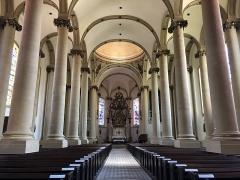 Eglise Saint-Maximin - Lëtzebuergesch: D'Kierch Saint-Maximin zu Diddenuewen am August 2020.