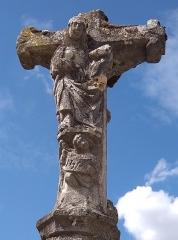 Croix - Français:   Vouxey - Croix d\'Imbrécourt (Vierge au verso)