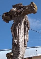 Croix - Français:   Vouxey - Croix d\'Imbrécourt (Christ au recto)