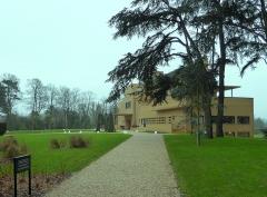 Villa Cavrois -  La Villa Cavrois à Croix, Nord .- France - Accès carrossable à l'entrée principale.