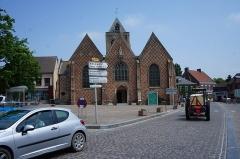 Eglise Saint-Folquin - Nederlands:   Esquelbecq (département du Nord, Frankrijk): Sint-Folquinuskerk