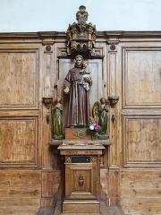 Eglise Saint-Sauveur - Français:   Église Saint-Sauveur d\'Ham-en-Artois, (Saint Antoine de Padoue tenant l\'enfant Jésus). Pas-de-Calais, France.