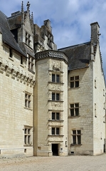 Château - Nederlands:   Montsoreau (departement Maine-et-Loire, Frankrijk): het kasteel - detail