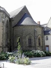 Abbaye bénédictine Notre-Dame d'Evron devenue Couvent de la Charité d'Evron - Basilique Notre-Dame de l'Épine d'Évron (53).