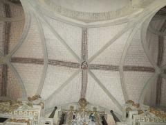 Cathédrale de la Trinité -  Voûtes de la travée du maître-autel de la cathédrale de la Sainte-Trinité de Laval, Mayenne, Pays de la Loire.