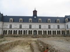Château Neuf, actuellement Palais de Justice de Laval - This image was uploaded as part of Wiki Loves Monuments 2012.