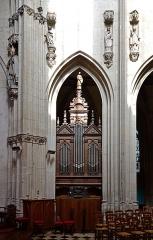 Eglise Notre-Dame-des-Marais - Français:   Orgue de choeur de l\'église Notre-Dame-des-Marais de La Ferté-Bernard - Sarthe