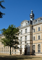 Anicenne abbaye Saint-Vincent, actuellement lycée Bellevue - Abbaye Saint-Vincent, actuel lycée Bellevue - Le Mans, Sarthe