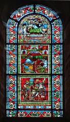 Cathédrale Saint-Julien - Vitrail de la Cathédrale Saint-Julien - Le Mans (Sarthe)
